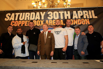 Ricky Hatton Boxing Press Conference