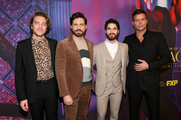Ricky Martin Edgar Ramirez For Your Consideration Event For FX's 'The Assassination Of Gianni Versace: American Crime Story' - Arrivals