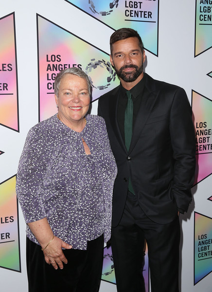 Los Angeles LGBT Center's 49th Anniversary Gala Vanguard Awards [event,premiere,carpet,suit,flooring,ceo,ricky martin,lorri jean,los angeles,the beverly hilton hotel,beverly hills,california,lgbt center,49th anniversary gala vanguard awards]