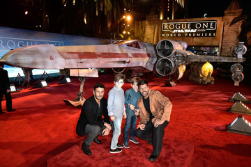 Ricky Martin The World Premiere of 'Rogue One: A Star Wars Story'