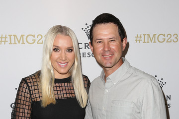 Ricky Ponting Rianna Ponting Crown's IMG@23 Tennis Players' Party