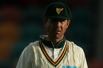 Ricky Ponting Sheffield Shield Final - Tasmania v Queensland: Day 3