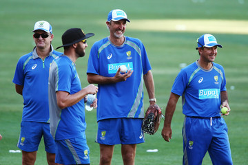 Ricky Ponting Australia Training Session