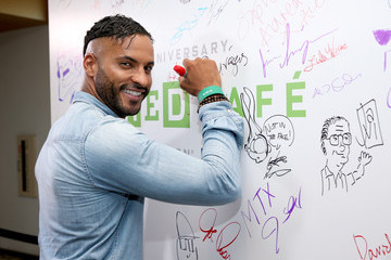 Ricky Whittle 2017 WIRED Cafe at Comic Con, Presented by AT&T Audience Network - Day 3