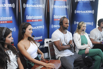 Ricky Whittle Lindsey Morgan SiriusXM's Entertainment Weekly Radio Channel Broadcasts From Comic-Con 2015