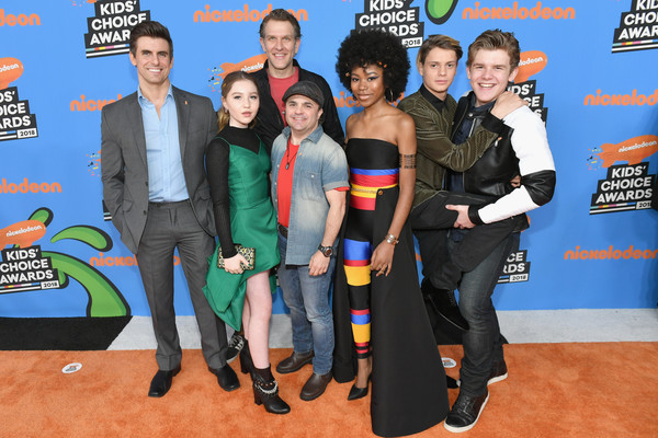Riele Downs and Cooper Barnes Photos Photos - Nickelodeon's 2018