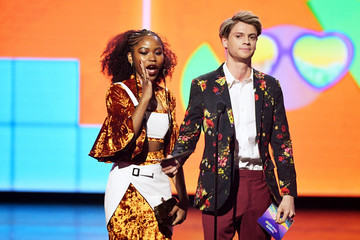 Riele Downs Jace Norman Nickelodeon's 2019 Kids' Choice Awards - Show