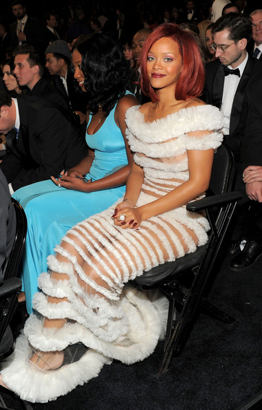 Rihanna Singer Rihanna attends The 53rd Annual GRAMMY Awards held at Staples Center on February 13, 2011 in Los Angeles, California.