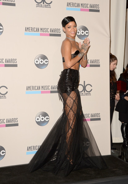 Rihanna - Sala de Imprensa no American Music Awards