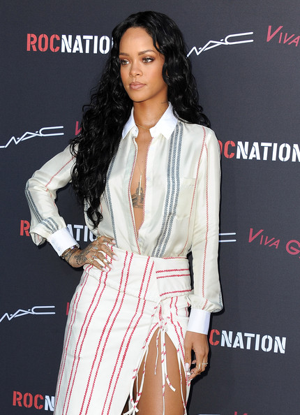 Rihanna - Roc Nation Pre-Grammy Brunch