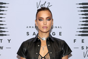 In this image released on October 2, Irina Shayk attends Rihanna's Savage X Fenty Show Vol. 2 presented by Amazon Prime Video at the Los Angeles Convention Center in Los Angeles, California; and broadcast on October 2, 2020.