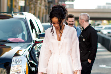 Rihanna Arrivals at the MTV Movie Awards — Part 3