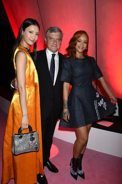 Rihanna Christian Dior - After Party - TOKYO Autumn/Winter 2015-16 Ready-To-Wear Show