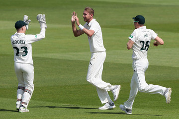 Rilee Rossouw Nottinghamshire Vs. Hampshire - Specsavers County Championship: Division One