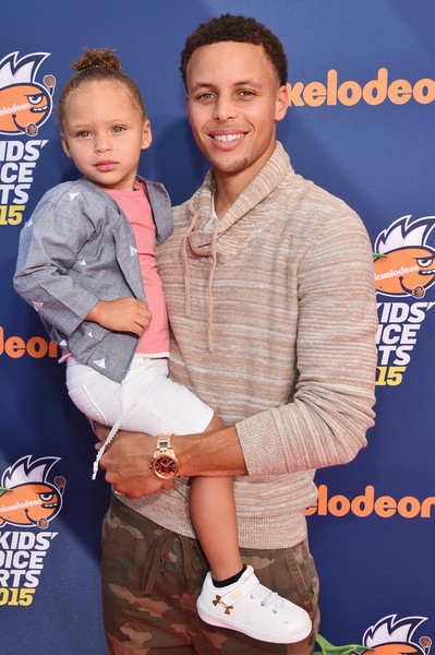 43919194b72b Riley Curry Photos - 15 of 34. Nickelodeon Kids  Choice Sports Awards 2015  - Red Carpet
