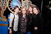 (From L) EVP and Producer at Feld Entertainment, Inc. Nicole Feld, TV personality Caroline Manzo, and EVPs and Producers at Feld Entertainment, Inc. Alana Feld and Juliette Feld attend Ringling Bros. and Barnum & Bailey presents 'Legends' at Barclays Center of Brooklyn on February 20, 2014 in Brooklyn, NY.