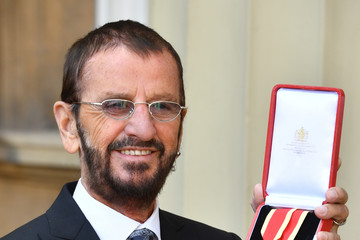 Ringo Starr Investitures At Buckingham Palace
