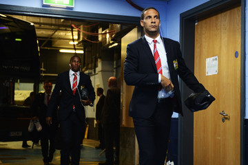 Rio Ferdinand Manchester City v Manchester United - Premier League