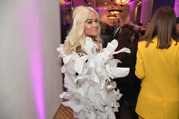 Rita Ora Pre-GRAMMY Gala And GRAMMY Salute To Industry Icons Honoring Clarence Avant – Inside