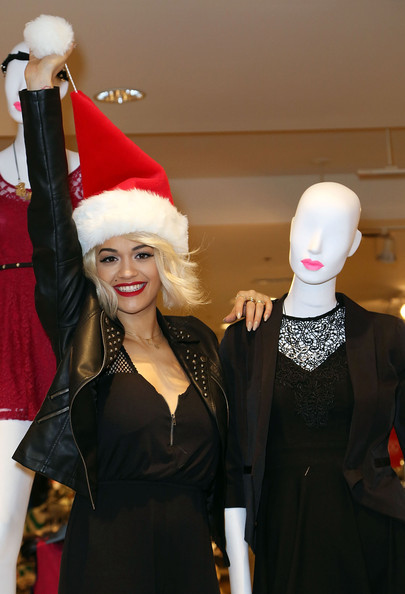 Rita Ora - Rita Ora Celebrates The Material Girl Holiday Collection