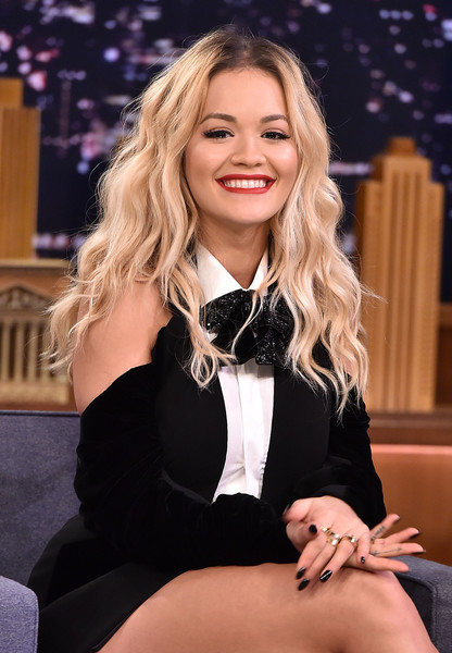 Rita Ora Photos Photos Rita Ora Visits The Tonight Show