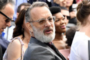 Tom Hanks attends the star ceremony for his wife Rita Wilson on the Hollywood Walk of Fame on March 29, 2019 in Hollywood, California.