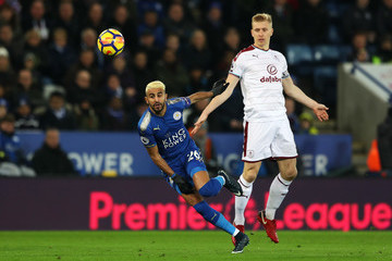 Riyad Mahrez Leicester City v Burnley - Premier League