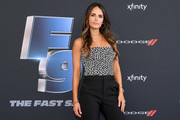 "Jordana Brewster attends ""The Road to F9"" Global Fan Extravaganza at Maurice A. Ferre Park on January 31, 2020 in Miami, Florida."
