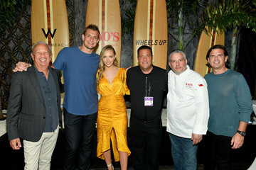 """Rob Gronkowski Wheels Up Hosts Exclusive Members-Only Dinners At The Wheels Up """"Rao's By The Beach"""" Pop-Up Restaurant In Collaboration With Rao's And W South Beach To Celebrate Miami's Big Game"""
