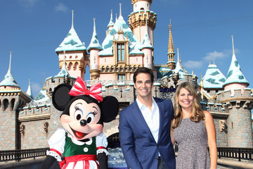 Rob Marciano Disney Parks' 'Frozen' Christmas Celebration