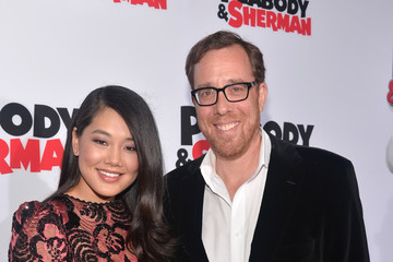 Rob Minkoff with beautiful, Wife Crystal Kung