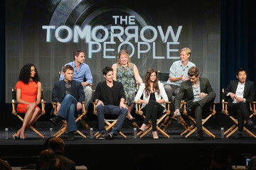 Robbie Amell 2013 Summer TCA Tour - Day 7
