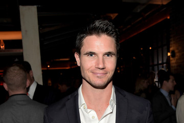 Robbie Amell FIJI Water At The Hollywood Foreign Press Association And InStyle's Celebration Of The 2017 Golden Globe Awards Season