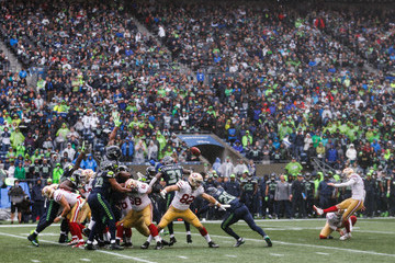 Robbie Gould San Francisco 49ers v Seattle Seahawks