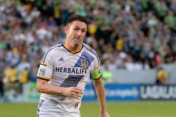 Robbie Keane Seattle Sounders v Los Angeles Galaxy