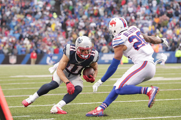 Robert Blanton New England Patriots v Buffalo Bills