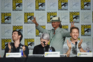 Robert Carlyle Colin O'Donoghue The 'Once Upon A Time' Panel at Comic-Con International 2015