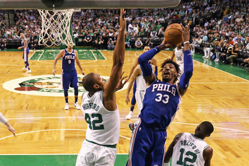 Robert Covington Philadelphia 76ers Vs. Boston Celtics - Game Two