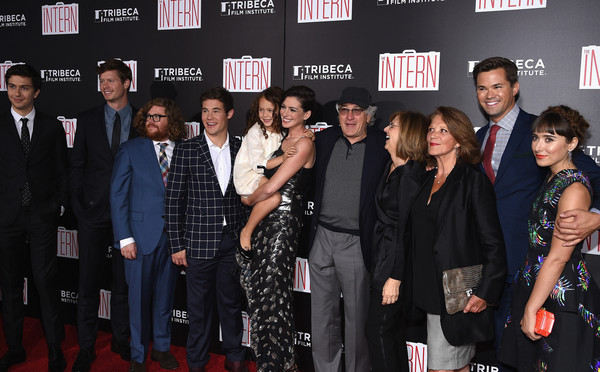 'The Intern' New York Premiere