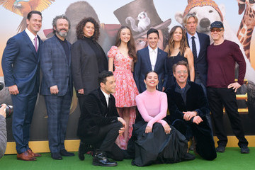 Robert Downey Jr. Rami Malek Premiere Of Universal Pictures' 'Dolittle' - Red Carpet