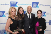 (L-R) Kerry Kennedy, Michaela Kennedy Cuomo, Keegan-Michael Key and Elisa Pugliese attend Robert F. Kennedy Human Rights Hosts Annual Ripple Of Hope Awards Dinner on December 13, 2017 in New York City.