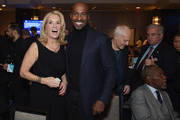 (L-R) Kerry Kennedy, Van Jones, Peter Frampton and Harry Belafonte attend Robert F. Kennedy Human Rights Hosts Annual Ripple Of Hope Awards Dinner on December 13, 2017 in New York City.