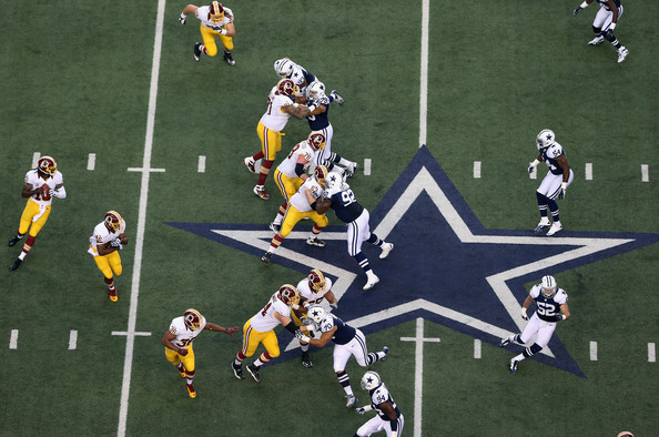 Redskins vs. Cowboys, 2012 Thanksgiving Day Game