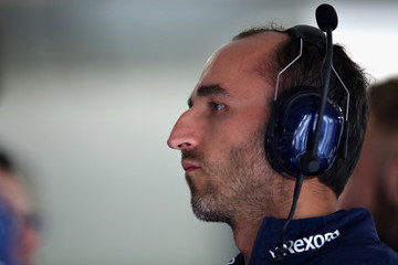 Robert Kubica F1 Grand Prix of Germany - Qualifying