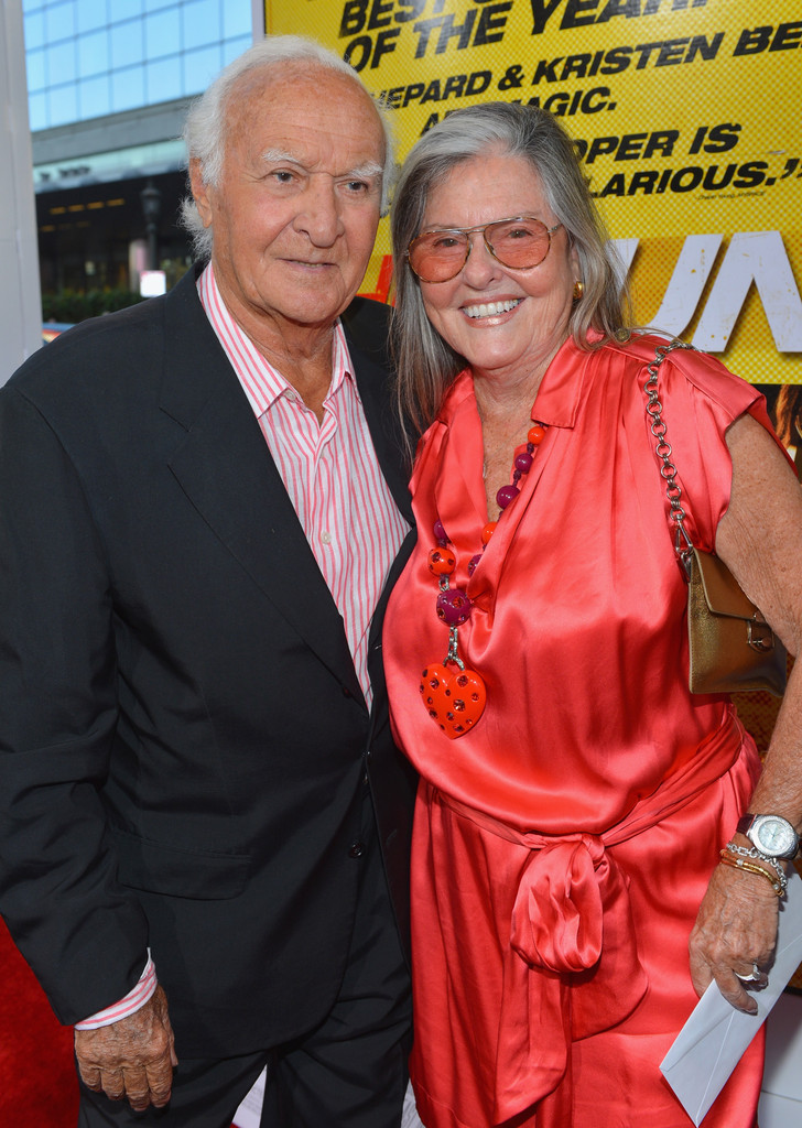 "Robert Loggia and Audrey Loggia - Premiere Of Open Road Films' ""Hit & Run"" - Red Carpet"