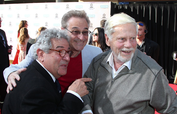 50th Anniversary Screening of 'The Sound Of Music' - Red Carpet [event,grandparent,gesture,tourism,crowd,actors,robert morse,barry pearl,michael tucci,l-r,red carpet,tcl chinese theatre imax,50th anniversary screening of the sound of music,screening,tcm classic film festival opening night gala]