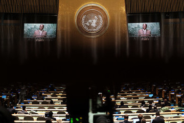 Robert Mugabe World Leaders Gather in New York for the Annual United Nations General Assembly