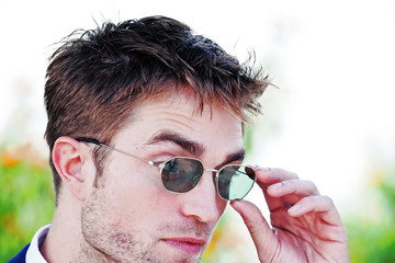 Robert Pattinson Instant View - The 70th Annual Cannes Film Festival