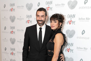 Robert Pires Chain of Hope Gala Ball - Red Carpet Arrivals