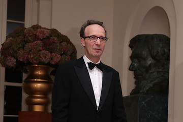 Roberto Benigni President and Mrs. Obama Host State Dinner for Italian PM Renzi